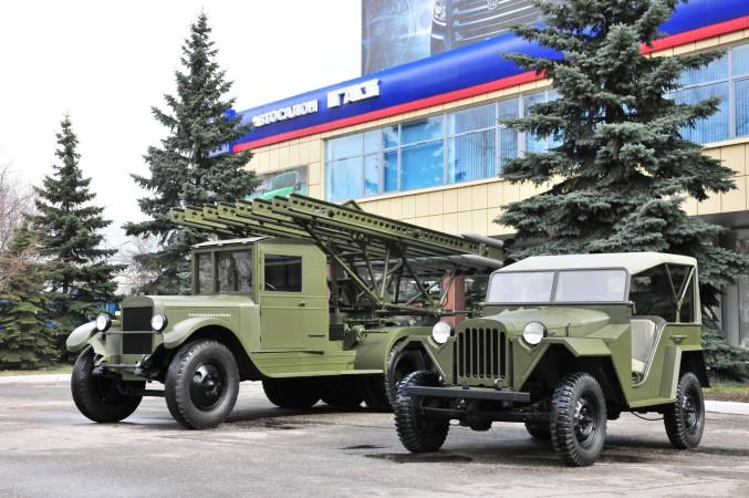 «Группа ГАЗ» отреставрировала ко Дню Победы военную технику для нижегородского кремля